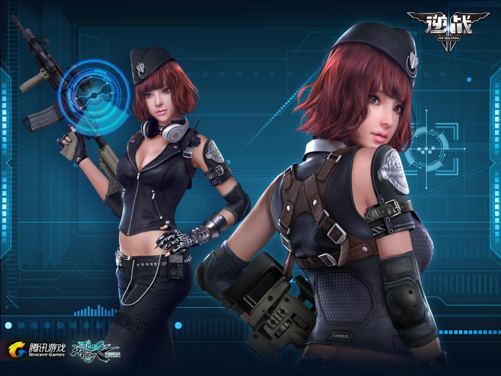 逆战现开放游戏女角色限时特卖啦! 本次限时特卖登场的女角色高清图片