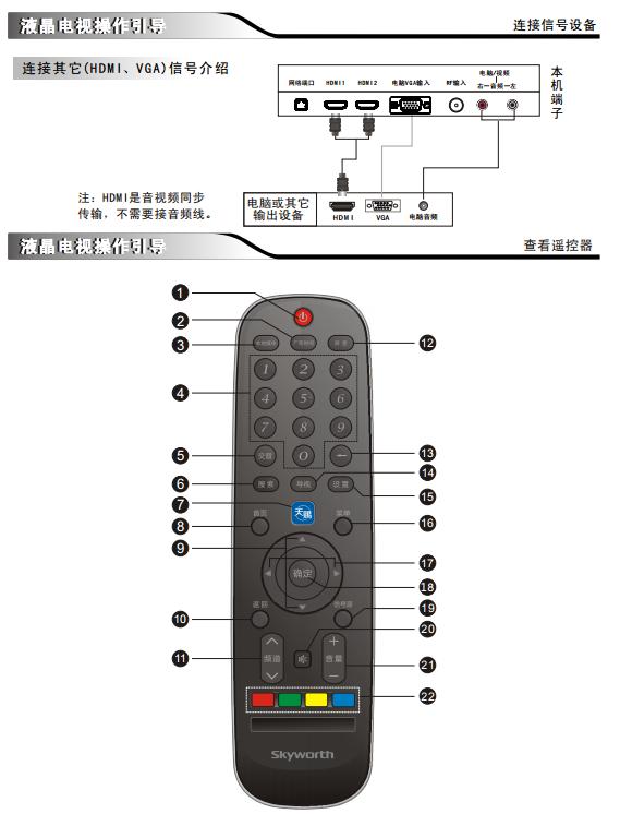 创维55e660c液晶电视使用说明书pdf免费版