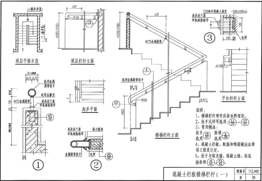 qq2011软件_11zj401图集免费下载 11ZJ401楼梯栏杆高清电子版图集pdf格式免费版 ...