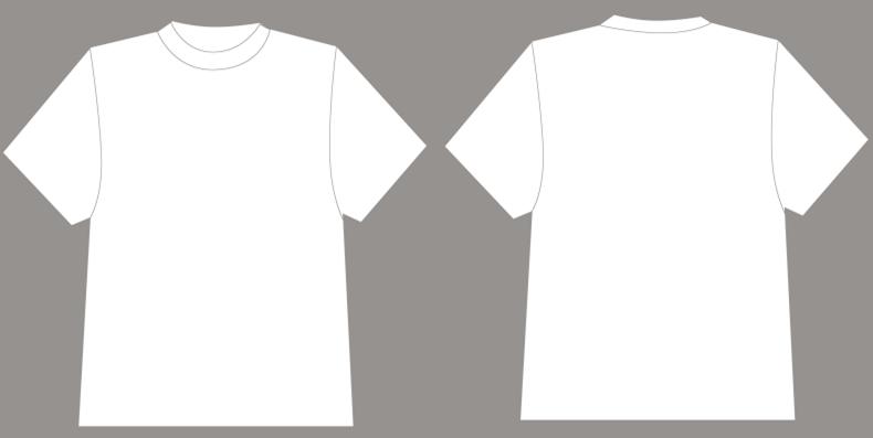 公司t恤设计图|平面空白T恤v公司模版psd分层格国内外出名的景观设计白色图片