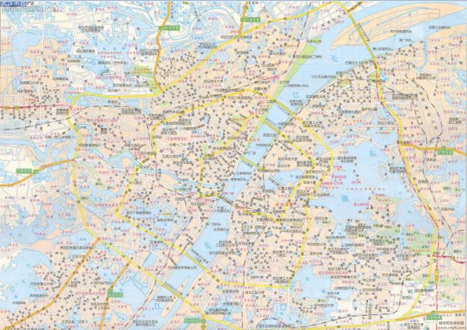 武汉地图全图高清版下载|武汉地图全图高清版
