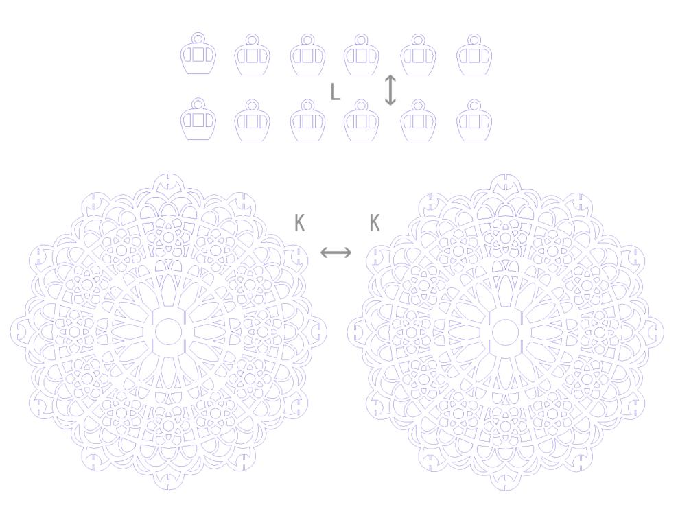 教育素材 素材下载 → 立体摩天轮纸雕图纸 pdf格式高清免费版【纸雕