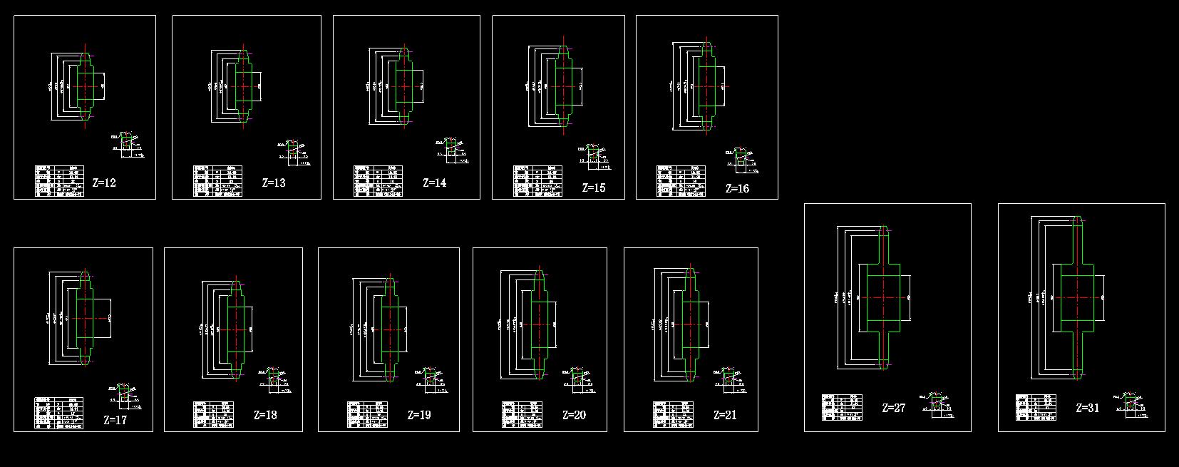 图纸步骤标准ugnx8.0链轮模具设计图片