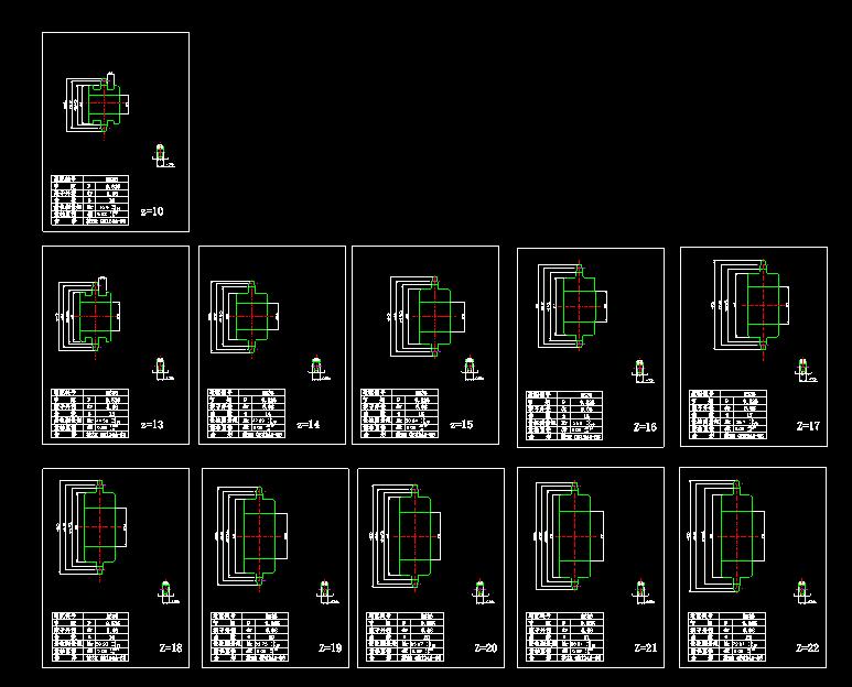 链轮标准链轮 图纸图纸autoCAD标准pdf室内设计毕业生自我鉴定800字图片