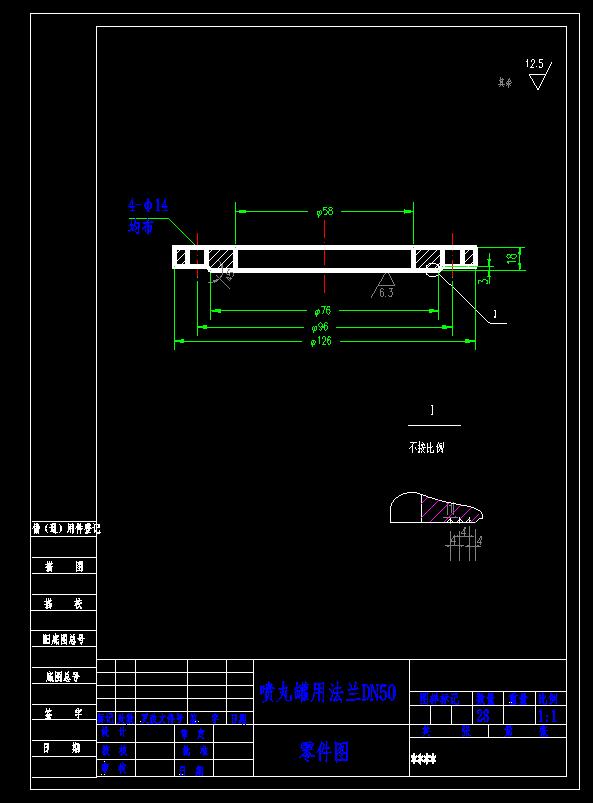 jbt8194法兰图纸标准cad把窗口并列怎么图片