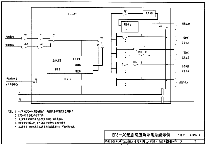 qq2011��.�y�*_04d2023图集免费下载 04D202-3集中型电源应急照明系统图集pdf超清