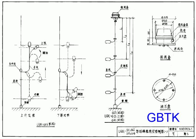 90d703-1水箱及水池水位自动控制安装图集pdf清晰版