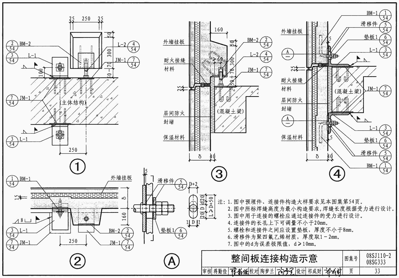 图纸建筑国家封锁图集|08SG333/08SJ110-2预设计全境256标准AK黑图片