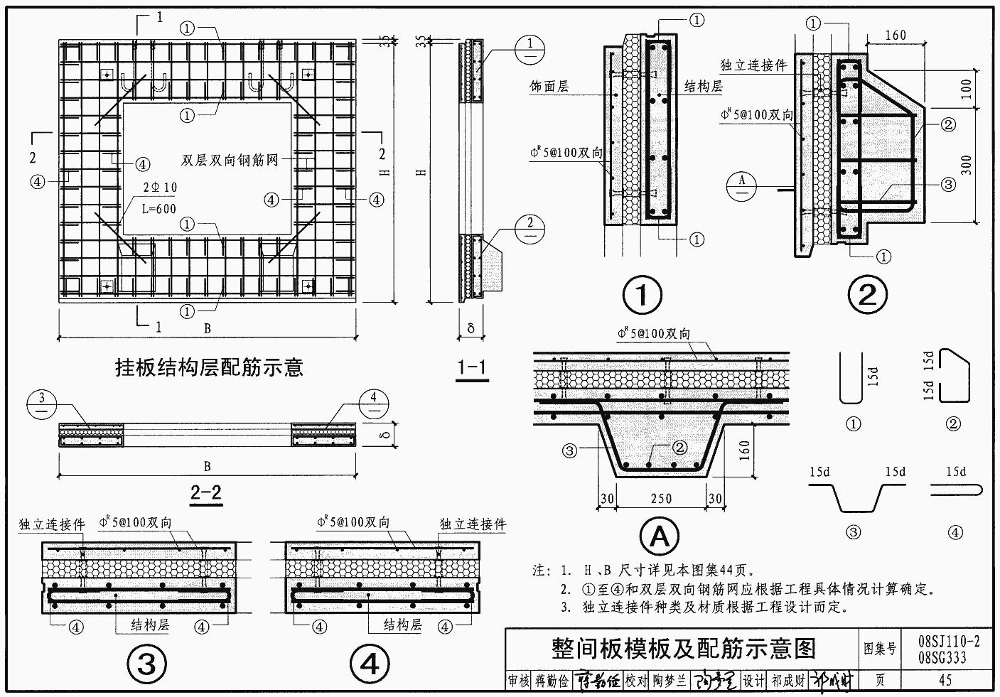 标准建筑公寓设计图集|08SG333/08SJ110-2预老年国家设计平面图图片
