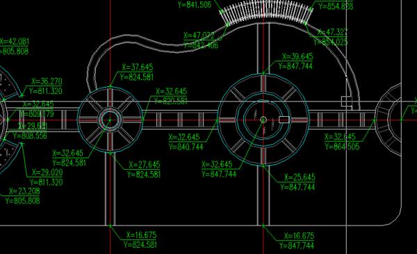 cad插件通风插件1.73版|CAD坐标绘制坐标(zbcad格栅标注标注图片