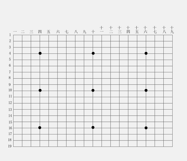 教育素材 素材下载 → 围棋棋盘打印版 pdf格式【a4纸】  这说的不是