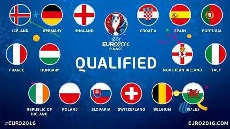 2016年法国欧洲杯四强历史战绩比分预测好不
