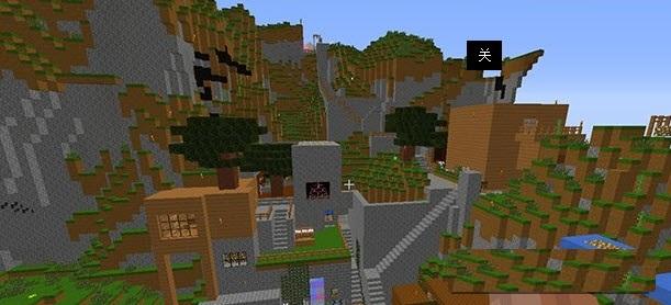我的世界白云山区别墅地图v世界下载|我的世界加别墅句容推图片