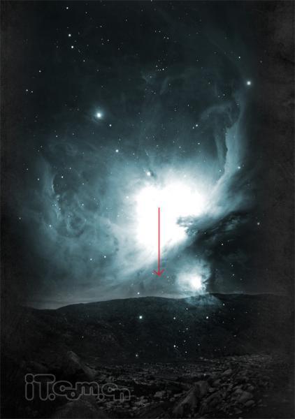 photoshop制作一幅科幻电影海报